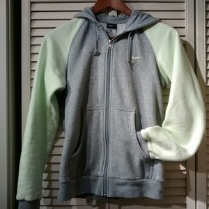 Nike Med Full Zip Up Athletic Hoodie